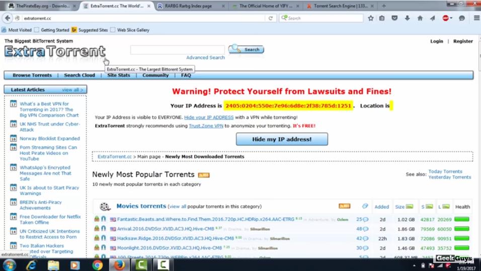 Best kickass torrent sites