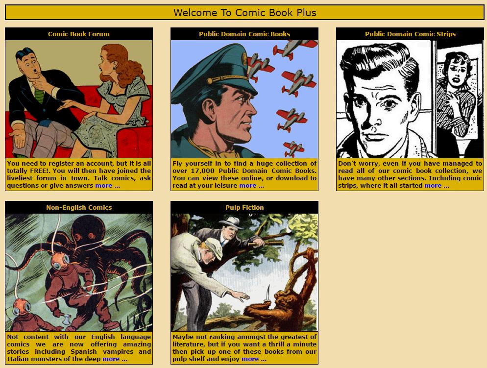 best comic sites