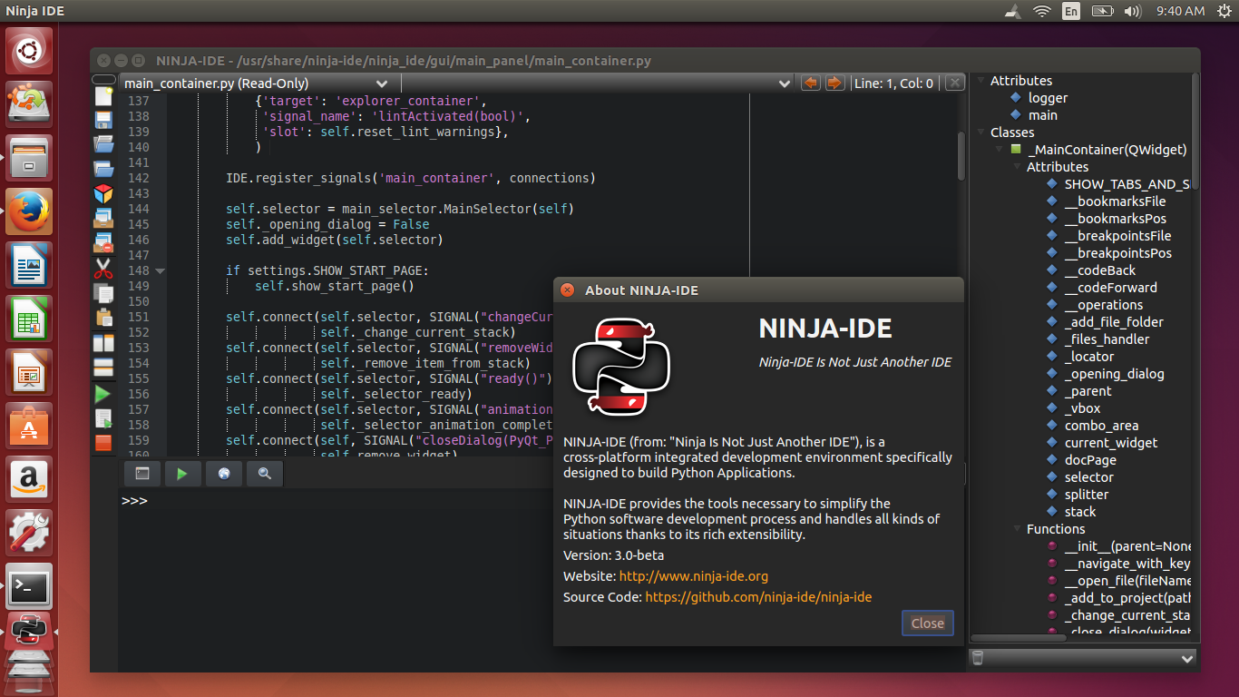 Ninja Ide Opinions One Of The Best Ide For Python